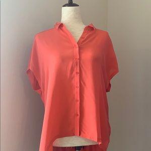 TROUVE pink blouse